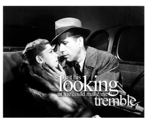 classic hollywood, Lauren Bacall, and Humphrey Bogart image
