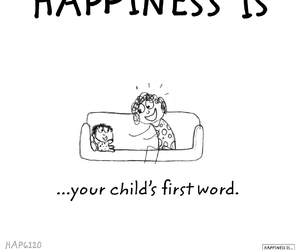 baby, happy, and first word image