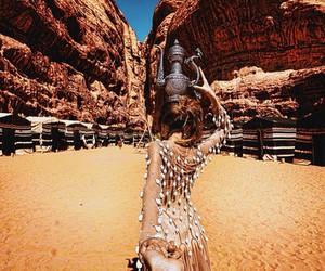 travel, couple, and jordan image