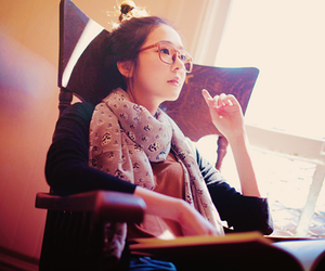 asian, glasses, and ulzzang image