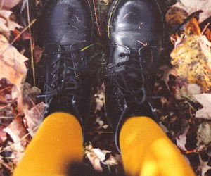 autumn, fashion, and shoes image