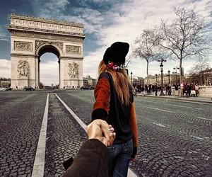 paris, murad osmann, and couple image