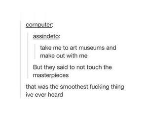 art, flirting, and fun image