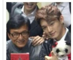 Chen, exo, and jackie chan image