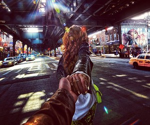 travel, couple, and murad osmann image