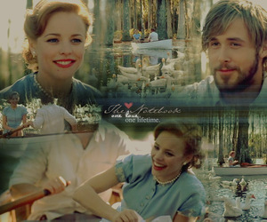 love story, the notebook, and film couple image