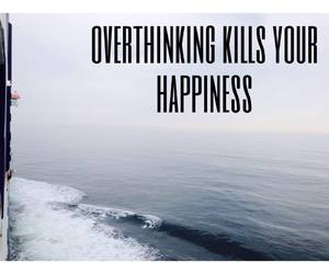 quote and overthinking image