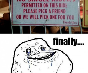 forever alone and funny image