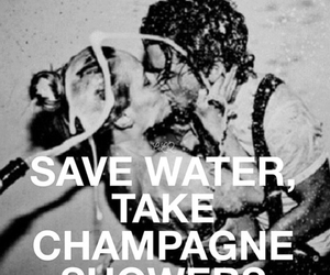 champagne, couple, and couples image