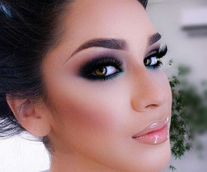 arab, beautiful, and face image