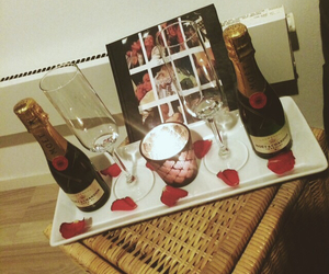 candles, champagne, and cheers image