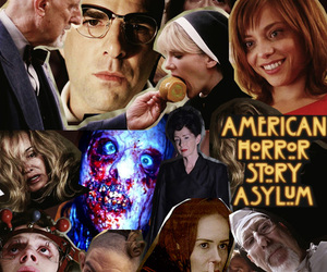 ahs, american horror story, and Collage image