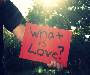 love, what is love, and quote image