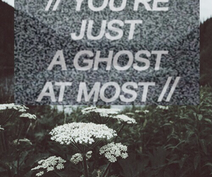 dandelion, ghost, and song quotes image