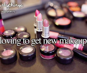 makeup, just girly things, and make up image