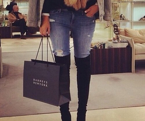 classy, jeans, and fashion image