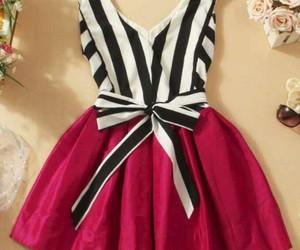 dress, rayas, and love image