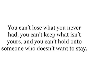 quotes, lose, and life image