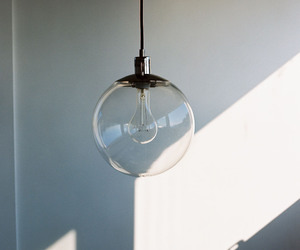 light, interior, and lamp image