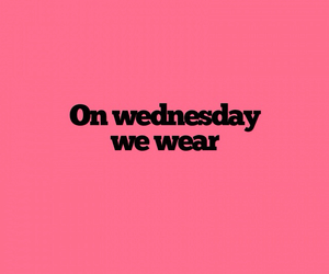 mean girls, pink, and wear image