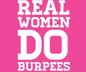 fitness, crossfit, and burpees image