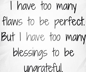 quotes, flaws, and blessing image