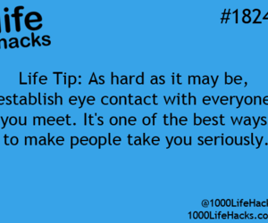life hack, people, and seriously image