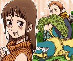 diane, nanatsu no taizai, and king image