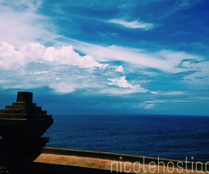 bali, blue, and Temple image