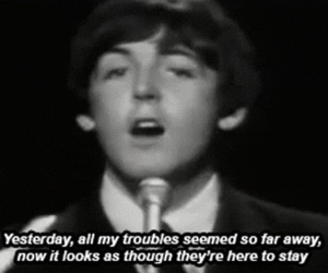 the beatles and yesterday image
