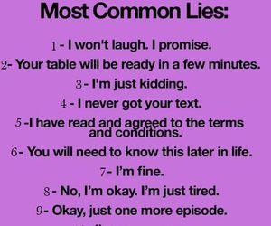 lies, funny, and true image