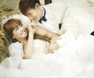 nichkhun, victoria, and we got married image