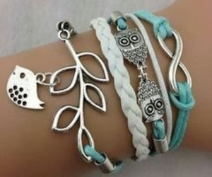 besties, girly, and bracelets image