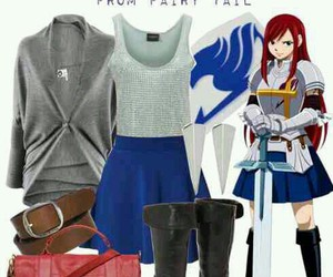 cosplay, fairy tail, and erza scarlet image