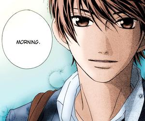 color, manga, and morning image