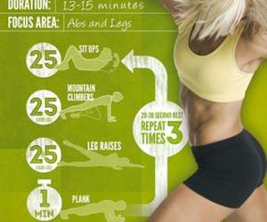 fitness, plank, and get in shape image