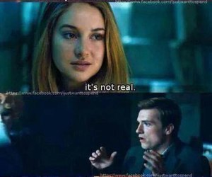 divergent, the hunger games, and tris image