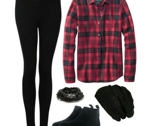 autumn, Polyvore, and black image