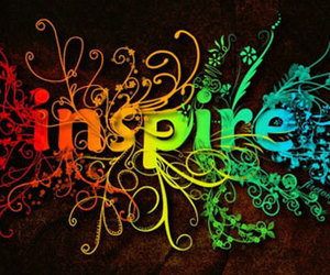 inspire, rainbow, and colors image