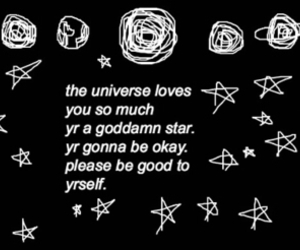 universe, quote, and stars image