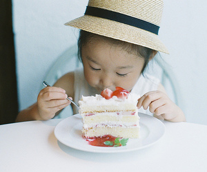 cute, cake, and delicious image