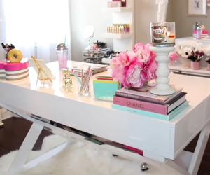 creative, girly, and white furniture image