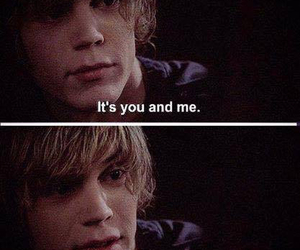 you and me, american horror story, and together image