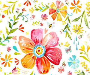 colorful, flower, and lovely image