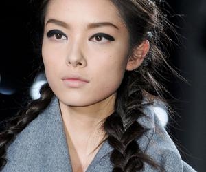 fashion, model, and braid image