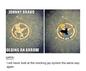 Johnny bravo, the hunger games, and catching fire image