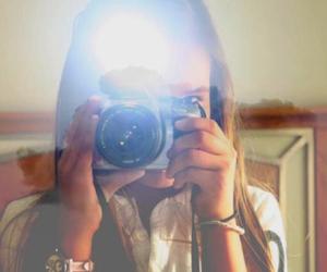 artist, blonde, and camera image