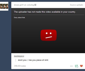 funny, tumblr, and youtube image
