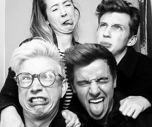 troye sivan, connor franta, and youtubers image