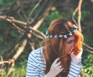 artistic, flower, and indie image